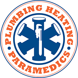 Plumbing and Heating Paramedics Logo